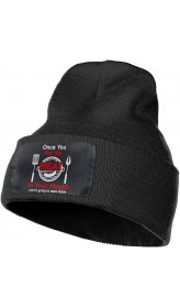 Once You Put My Meat in Your Mouth BBQ Slouchy Beanie for Men Women Winter Hats Warm Knit Skull Cap One Size B08P33YZWJ